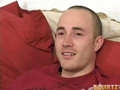 Firefighter Jo Wanks His Big Hose