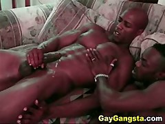 Black Studs Hungry For Anal Sex