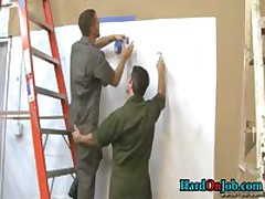 These Guys Are Horny And Hard In The Office 4 By HardOnJob
