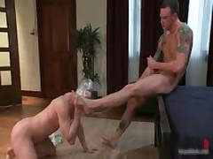 Cliff And Troy In Horny Extreme Gay Bondage Fetish Movie 10 By BoundPride