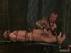 Derrick And Leo In Horny Extreme Gay Bondage Fetish Video 6 By BoundPride