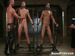 Leo And Trent In Very Extreme Gay Porn Bondage 4 By BoundPride