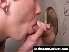 Glory Hole Gang Bang Screw 1 By BackRoomSuckers