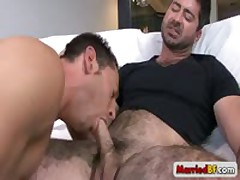 Exciting Queer Attractive Fucked And Sucked Unshaved Dude By Marriedbf