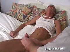 Brandon Getting His Horny Gay Schlong Jerked 8 By BFgusher