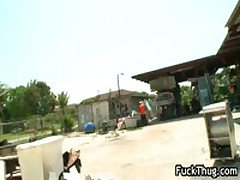 African Ghetto Gets Fucked In The Poop Shute 1 By FuckThug