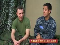 Sailor Fucks Army Muscle Dude