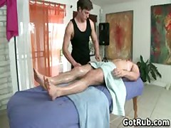 Dude Gets His Ass Oiled Up And Fucked Hard 2 By GotRub