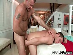 Dude Gets His Tiny Little Cute Asshole Rubbed 6 By GotRub