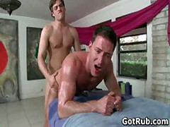 Dude Gets His Ass Oiled Up And Fucked Hard 5 By GotRub