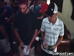 Fresh Heterosexual School Men Get Homosexual Hazed 30 By GotHazed