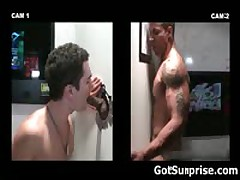 Heterosexual Buddy Sticks His Boner In Homosexual Glory Hole 8 By GotSurprise