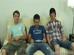 Ashton In Amazing Gay Threesome Gay Porn 2 By GotBroke