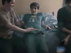 Heterosexual Teenaged Dude In Aroused Queer Gang Bang 5 By BoysFeast