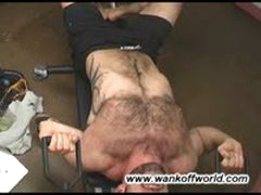 Hairy Muscle Workout