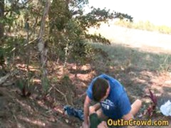 Horny Gays Have Some Outdoor Fuck 1 By Outincrowd