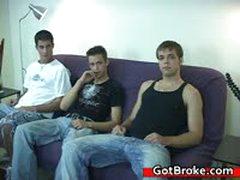 Broke Danny, Diesel, Jason Gay Threesome 17 By GotBroke