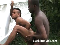 Black Guys Outdoor Action