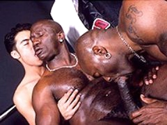 Black Gay Studs Love Group Anal Fucking White Twink Ass