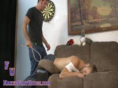 Str8 Jock Gives Initiation