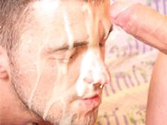 Hardcore Gay Fucking And Dumping Of Big Cum On His Face