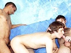 Very Nice Hardcore Gay Group Bareback