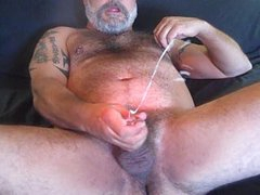 Dater Hairy  Blows His Load