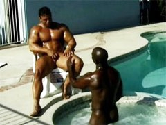 Interracial Muscle Sex