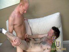 Muscular Redhead Puts Moves On Hairy Twink