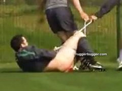 Athlete Forcibly Stripped