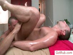 Stud Getting Rimmed During Massage By Gotrub