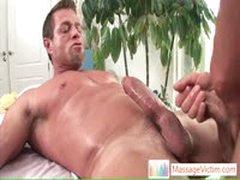 Camdem Blasting His Load All Over His Massage Master By MassageVictim