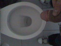Me Peeing At University Toilet