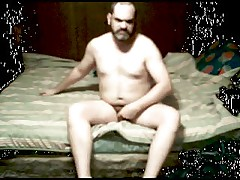 My Hairy Naked Whole Body